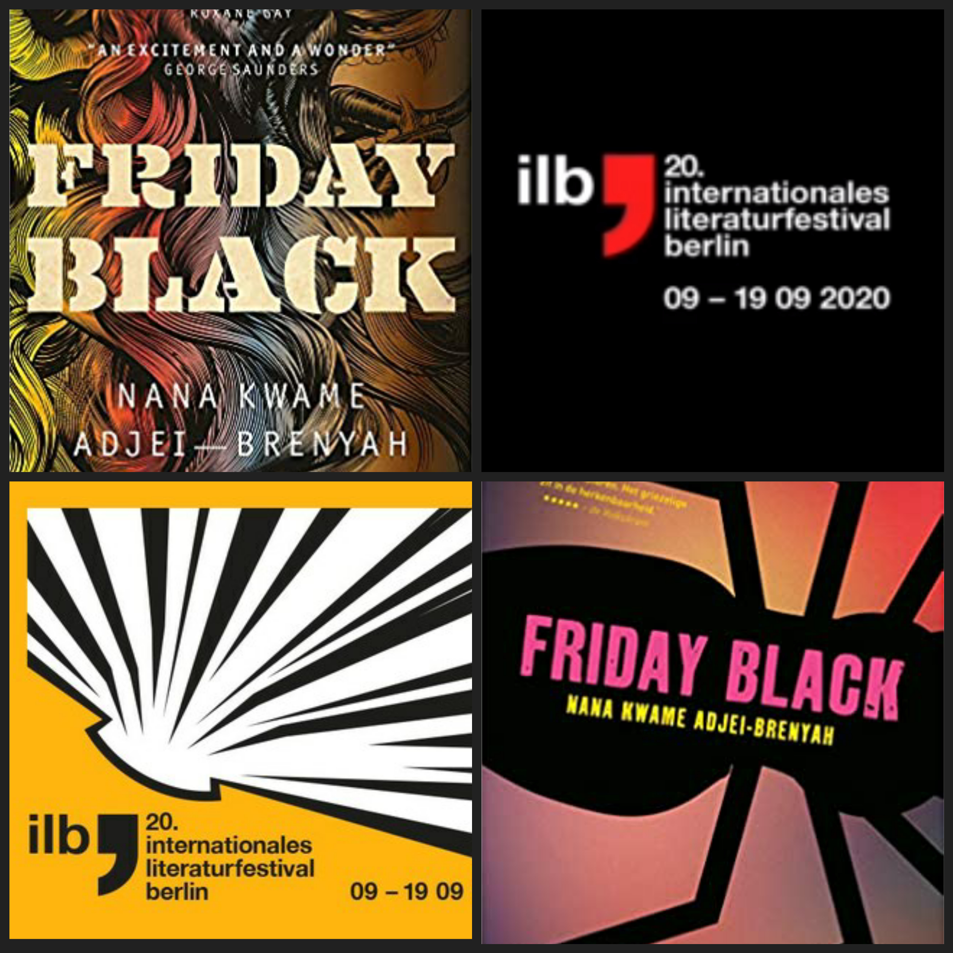 Friday Black by Nana Kwame Adjey-Brenyah: an ilb event