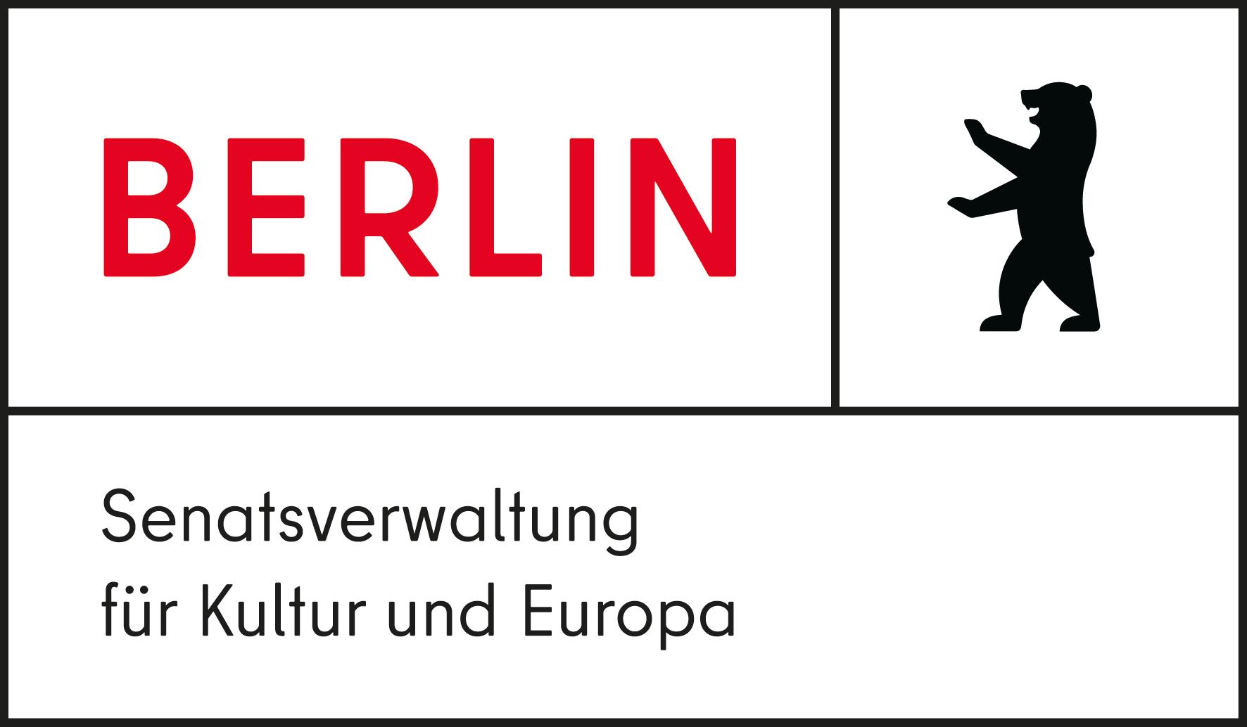 Logo: Senatsverwaltung für Kultur und Europa Berlin