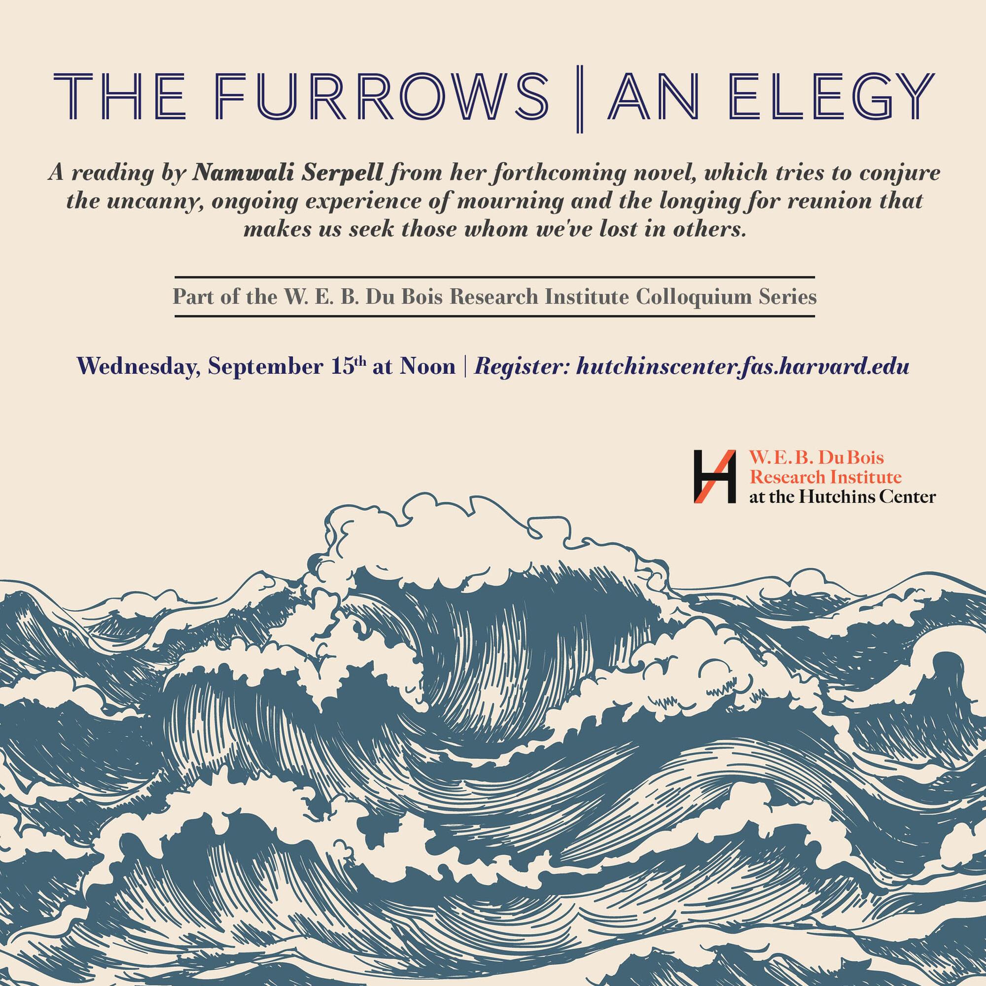 Namwali Serpells neuer Roman The Furrows: An Elegy